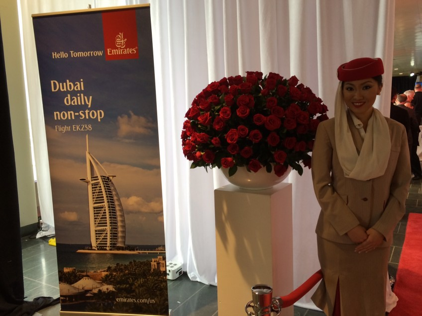 Emirates Flight Attentant – The epitome of glamour