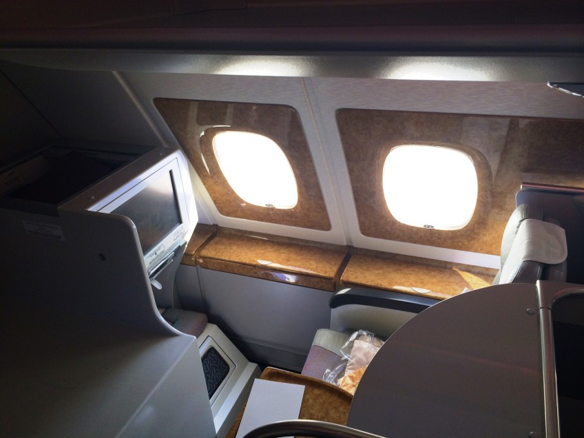 Business Class on the Airbus A380-800