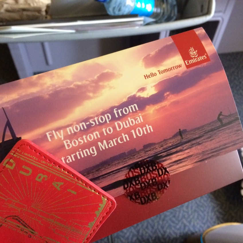 Hello Boston – New route between Boston and Dubai started March 10th and operating daily