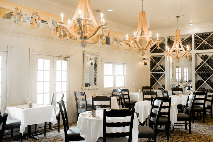 Farmhouse Restaurant Interior, 2