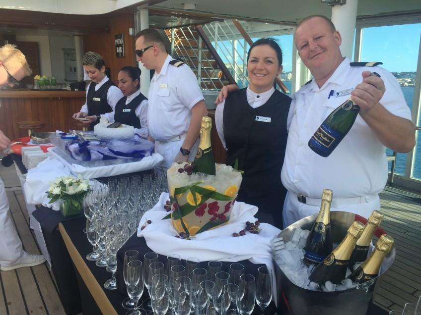 Caviar & Champagne Sail - Seabourn Odyssey