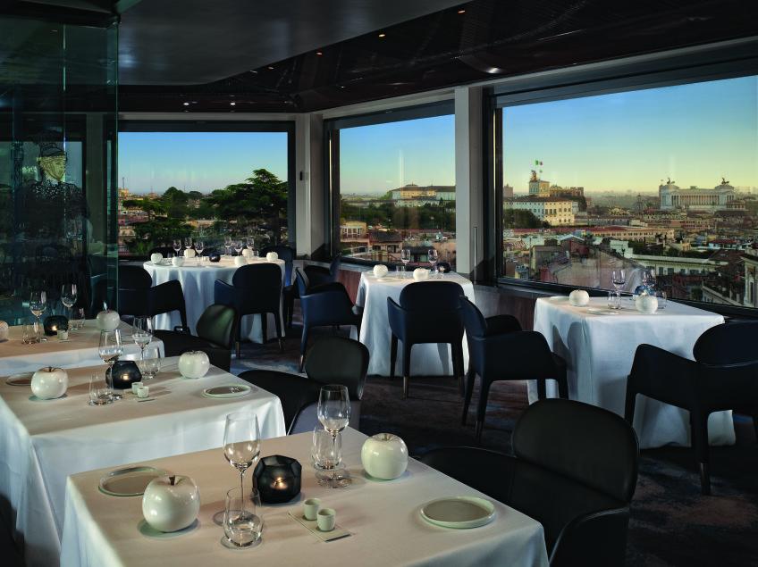 Hotel Eden Roma - La Terrazza work 50% for VL so17 BOB Walt